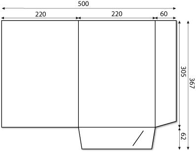 Chemise 2 Volets Simple Rainage Cotes Du Document VISUALISER